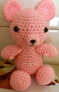 Amigurumi crochet teddy bear