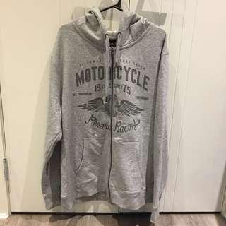 (2XL) NWOT Grey Hoodie