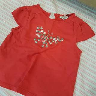 Poney baby girl tops