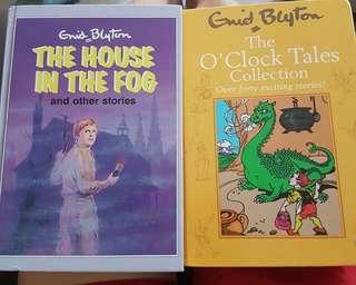 Enid Blyton Books - hard cover