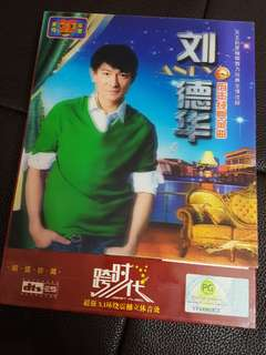 Andy Lau Best Love Songs Collection Dvd