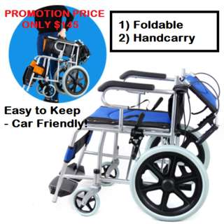 Compact Wheelchair - Brand New