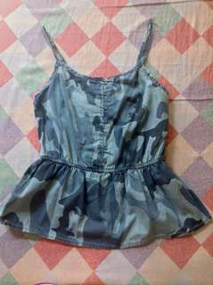 Arizona Peplum Tank Top