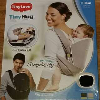 Repriced! Tiny Love- Tiny Hug Baby Carrier (for newborn to 36 months) Beige