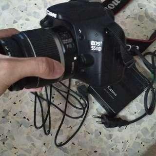 Canon 550D 18-55mm lens