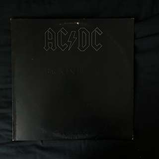 AC/DC - Back in Black - OG 1980 US Pressing Vinyl LP