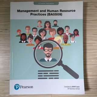 Management and Human Resource Practices textbook