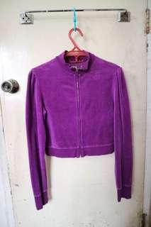 Plush and Lush Velour Jacket