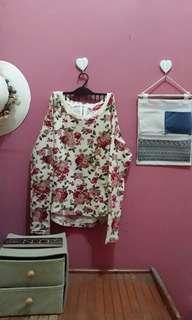 Sweatshirt flower