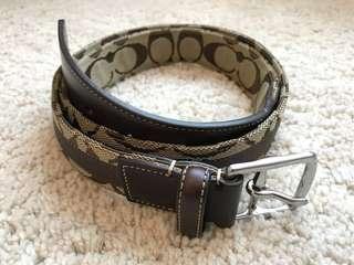Coach Belt (95%new)✨
