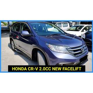 2013 Honda CR-V 2.0 (A) AWD MODULO LUXURY VERSION