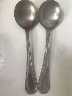 Vintage Japan Soup Spoon