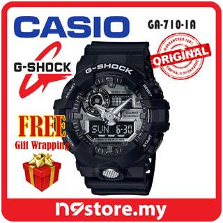 CASIO G-SHOCK GA-710-1A ANALOG-DIGITAL TOUGH SERIES SPORTS WATCH JAM TANGAN