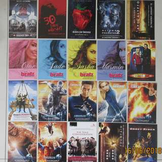 🚚 Select Any 20 Movies Postcards Released in 2007