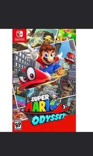 Mario odyssey ( Nintendo Switch)