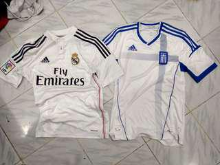 Real Madrid & grece real Champions jersey murah original