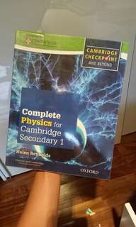 CAMBRIDGE Complete Physics For Secondary 1