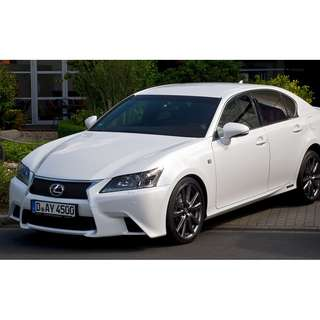 Looking for Lexus GS or BMW X3 for lease/rent