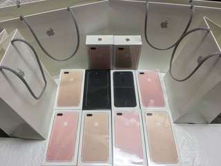 Iphone 7 7 plus 8 8 plus for sale sealed original and apple warranty