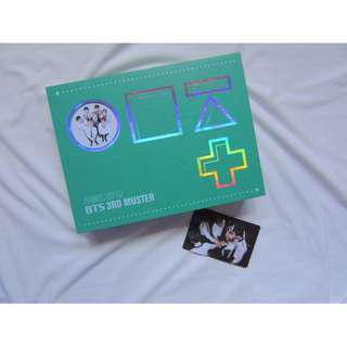 BTS 3RD MUSTER DVD with group photocard
