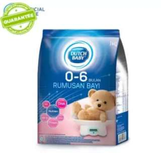 Dutch Baby Milk / Susu bayi 0-6 months