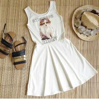 Kitten Me Right Sleeveless Dress