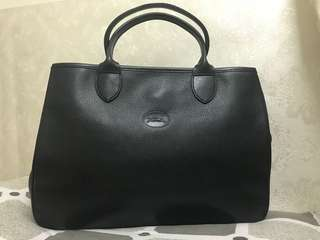 Long Champ Leather Bag