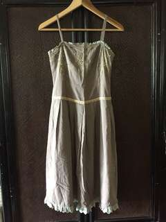 Dress, used once only