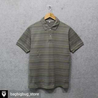 UNIQLO Stripe Poloshirt -Size: L