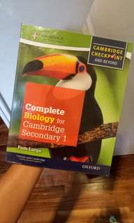 CAMBRIDGE Complete Biology For Secondary 1