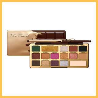 Too Faced Chocolate Gold Eyeshadow Palette (SG only)