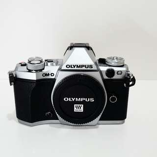 Olympus E-M5 II Body Only Silver