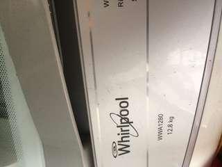 Whirlpool washing machine 12.8kg