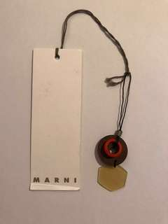 全新 Marni mobile strap/ charm /key strap