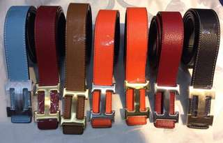 Authentic belt for women/men