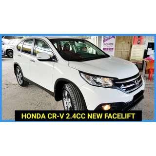 2015 Honda CR-V 2.4 (A) 4WD FULL SVC RECORD HONDA