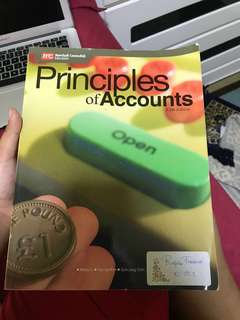 Principles Of Accounts Textbook fifth edition