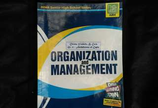 SHS Grade 11 textbook - Organization and Management