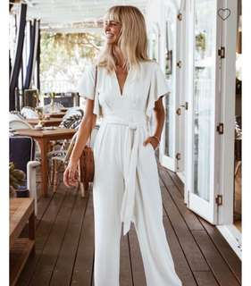 Sheike Revolution Jumpsuit - White