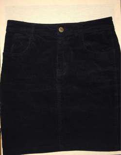 Neon Hart Corduroy skirt