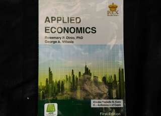 SHS Grade 11 Textbook - Applied Economics