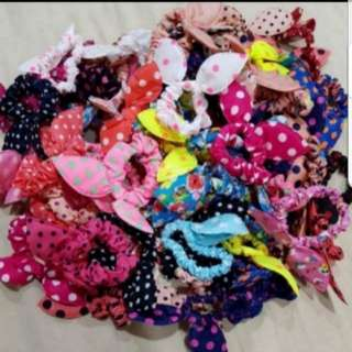 (10pc $4.5) Bunny Hair Tie Grab