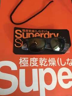 Superdry Navy Retro Rebel Sunglasses