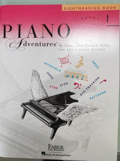 Brand New Piano Adventures Sight Reading Level 1