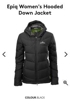 **REDUCED PRICE** Kathmandu Epiq Hooded Down Jacket