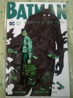 Batman~creature of the night (book one&two)