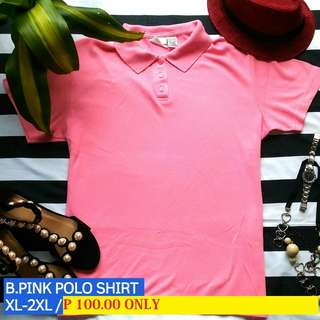 Baby Pink Polo Shirt