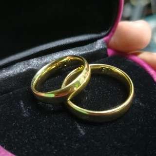 Wedding Ring 18karat Saudi