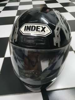 Index full face helmet