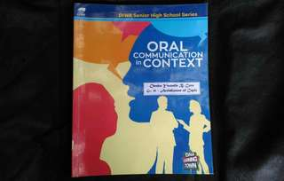 SHS Grade 11 Textbook - Oral Communication